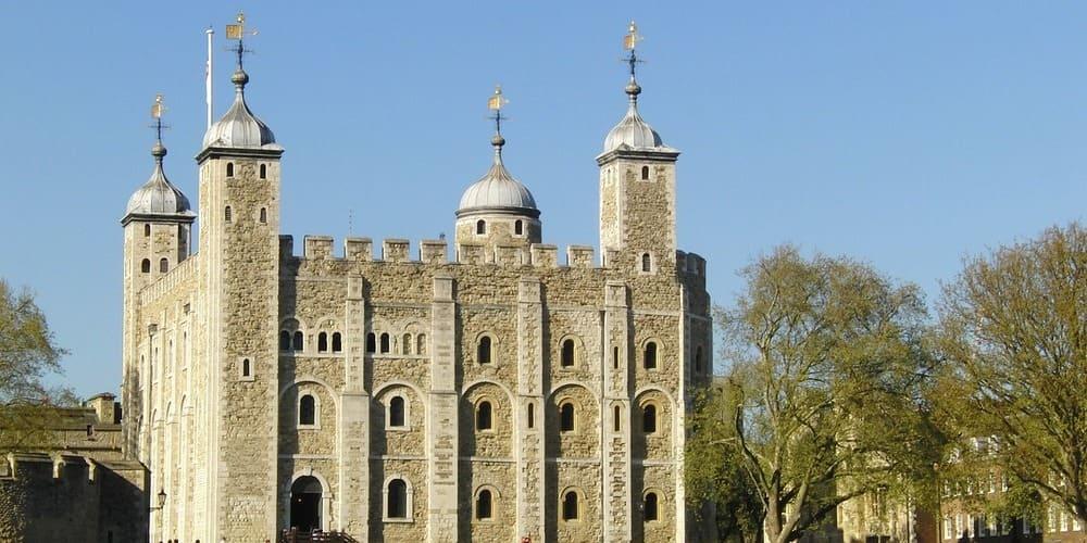 Exterior de la Torre de Londres, un must para ver con niños