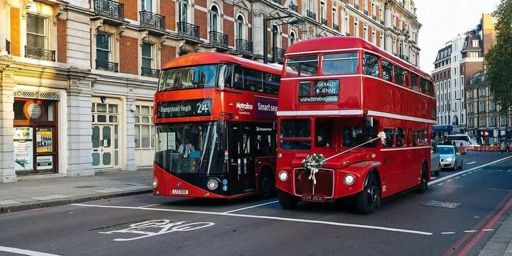 El autobús de Londres el medio de transporte más económico
