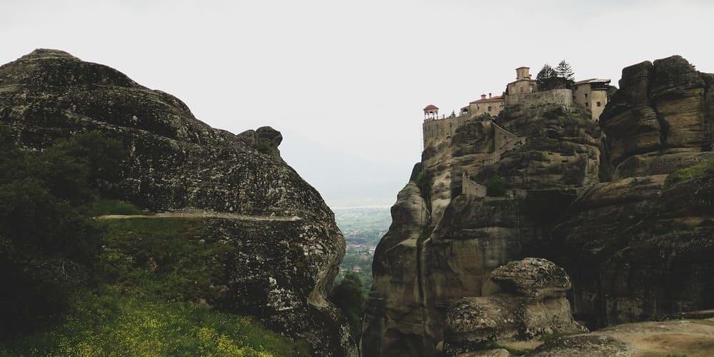 Vista de los Monasterios de Meteora