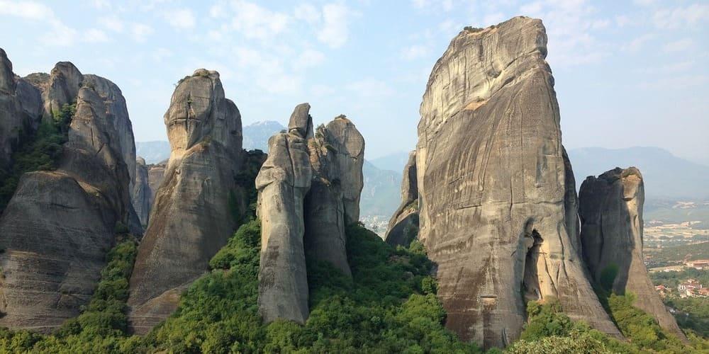 Monasterios de Meteora, en Kalambaka