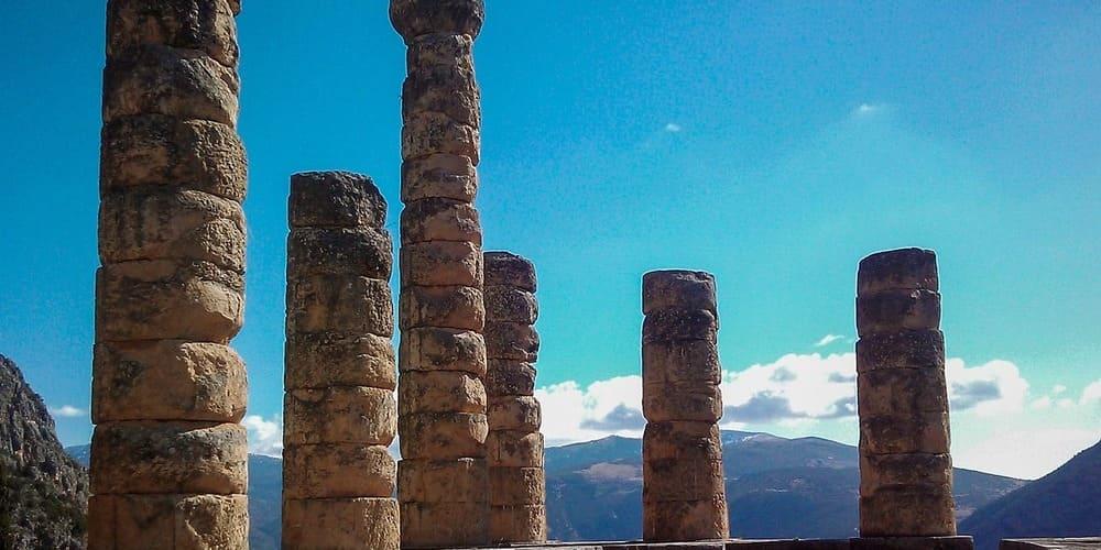 Ruinas del Templo de Delfos