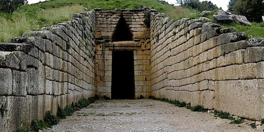 Tumba del rey Agamenón, en Micenas