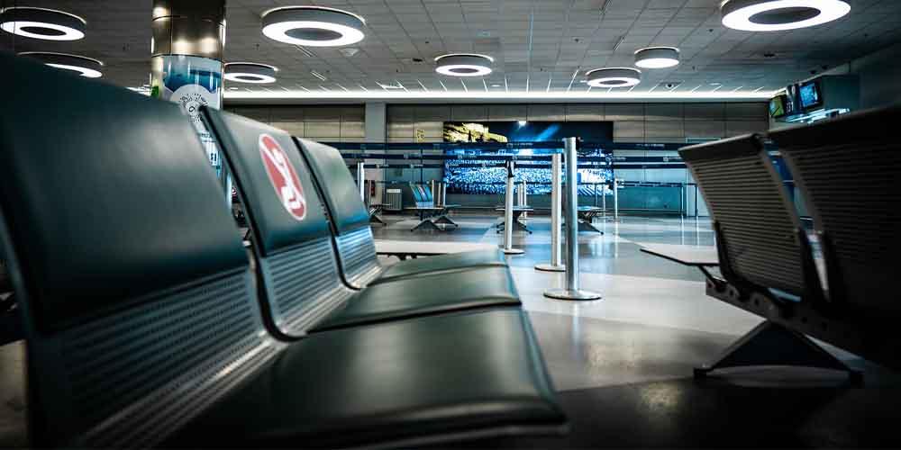 Terminal del Aeropuerto Internacional de Atenas.