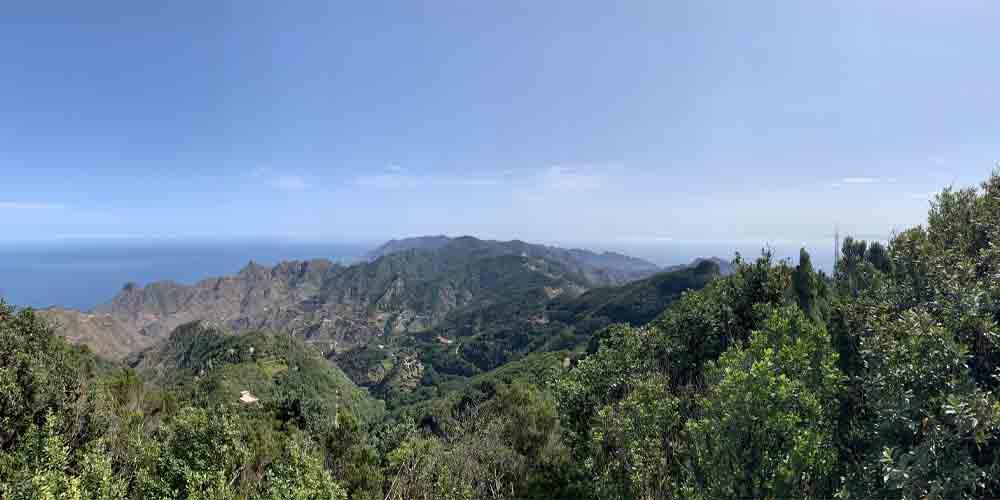 Vista del Parque Rural de Anaga.