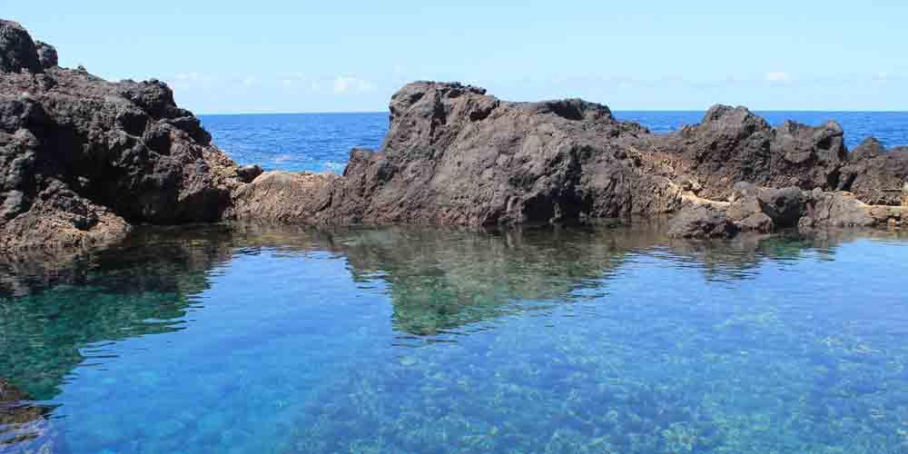 Una piscina natural de Garachico, un pueblo que ver en el norte de Tenerife en 2 días.