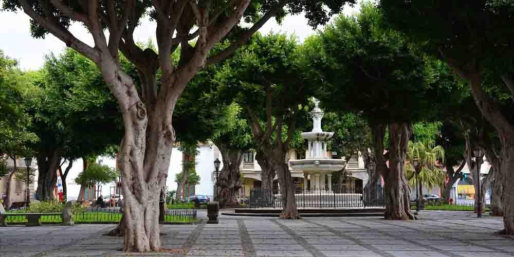 La Plaza del Adelantado en La Laguna, Tenerife.