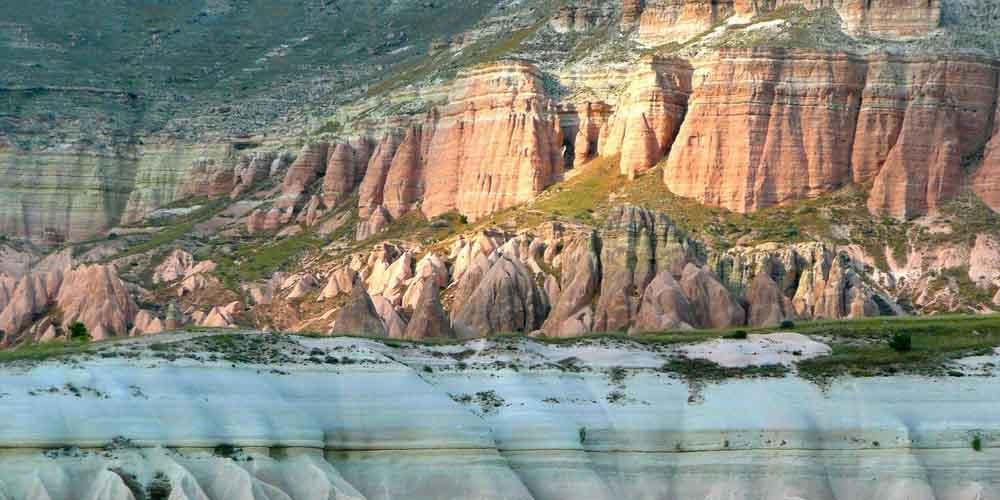 Valle de los Monjes en la Capadocia de Turquía.