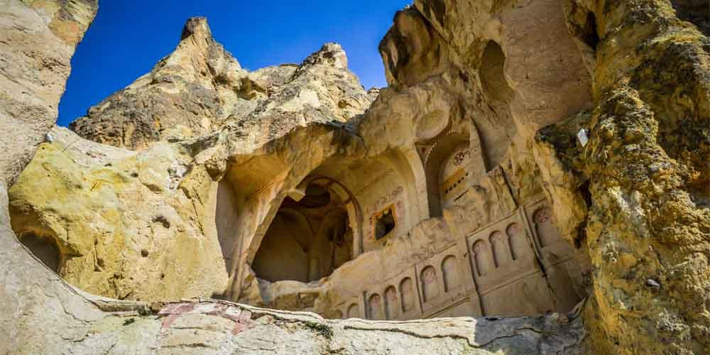 Museo al aire libre de Göreme en un viaje por Capadocia en 3 días.