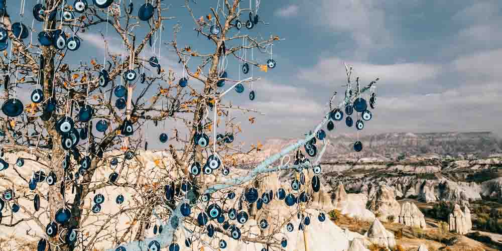 Vista de un valle que ver en Capadocia.