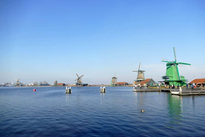 Qué ver en Zaanse Schans, el pueblo de los molinos de Holanda