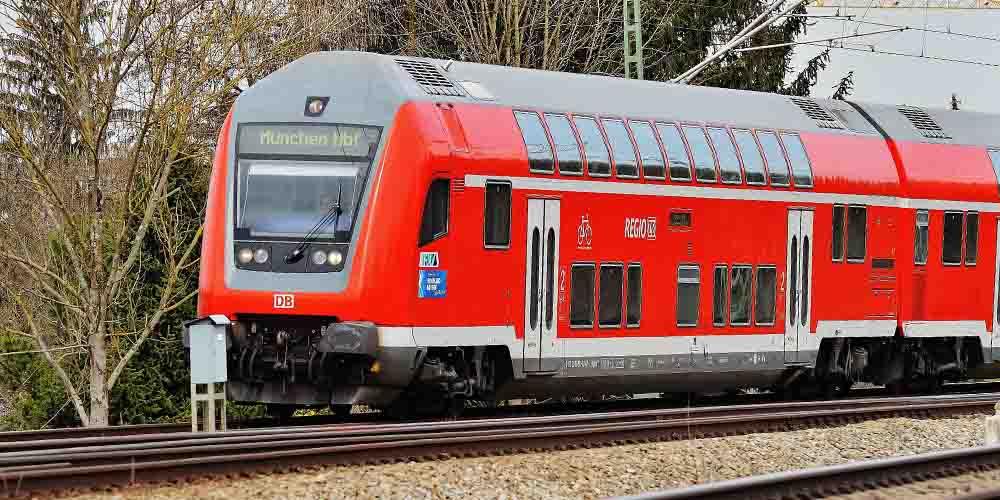 Tren a Neuschwanstein desde Múnich.