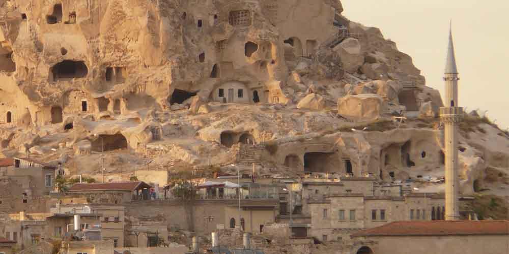 Cuántos días son necesarios en Capadocia para ver el Castillo de Uchisar.
