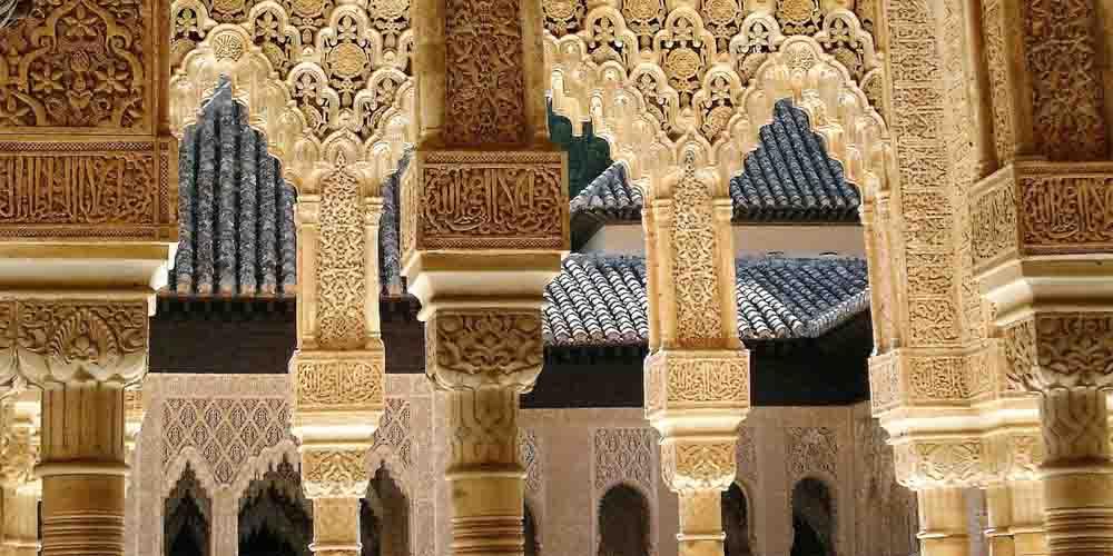 Cómo comprar entradas a la Alhambra y los Palacios Nazaríes que se ven en la foto.