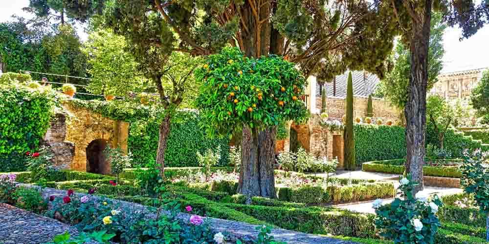Precio de entradas a la Alhambra y los jardines del Generalife que se ven en la foto.