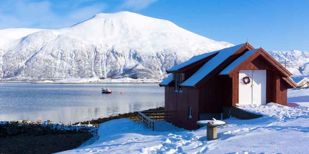 Lugar donde ver la aurora boreal en Tromso.