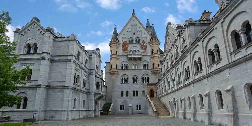 Entrada para visitar Neuschwanstein dese Múnich.