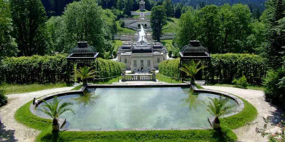 El Palacio de Linderhof.