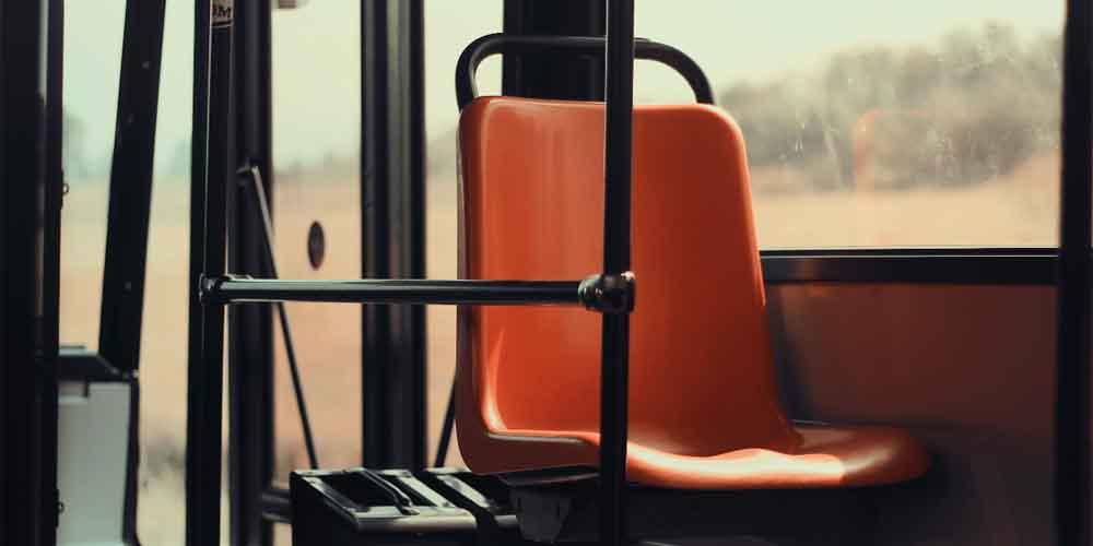 Imagen del bus para llegar a Brujas desde Bruselas.