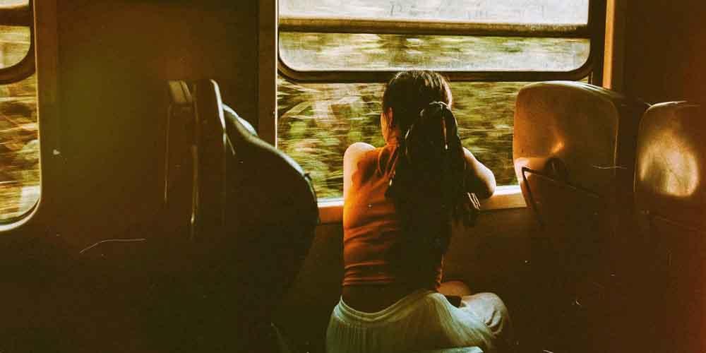 Imagen del tren para ir a Brujas desde Bruselas.