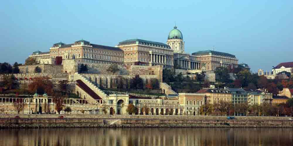 El Castillo de Buda, uno de los monumentos de Budapest con más historia.