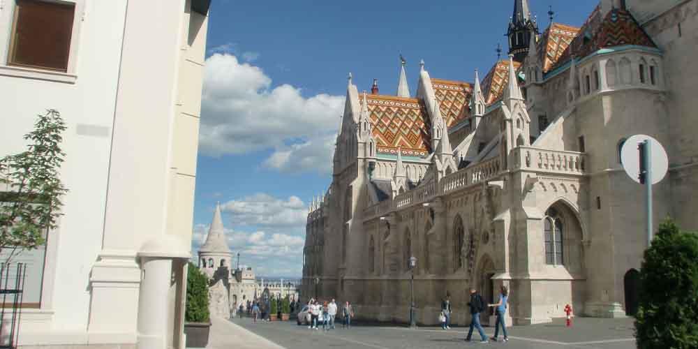 La Iglesia de Matías, uno de los monumentos de Budapest más importantes.
