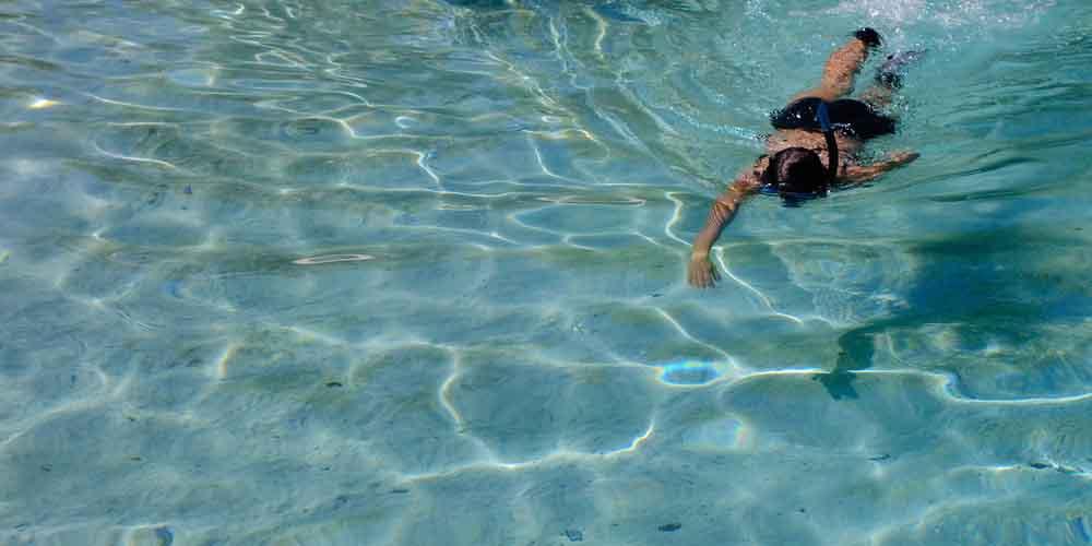 Uno de los lugares donde hacer el mejor snorkel en Menorca.