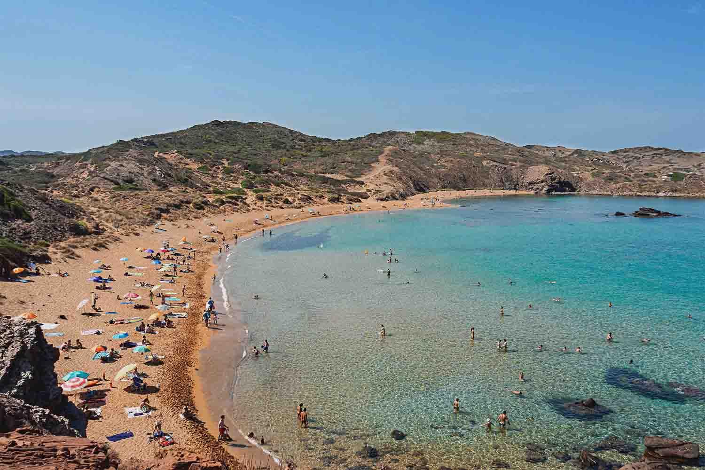 Sitios donde hacer snorkel en Menorca