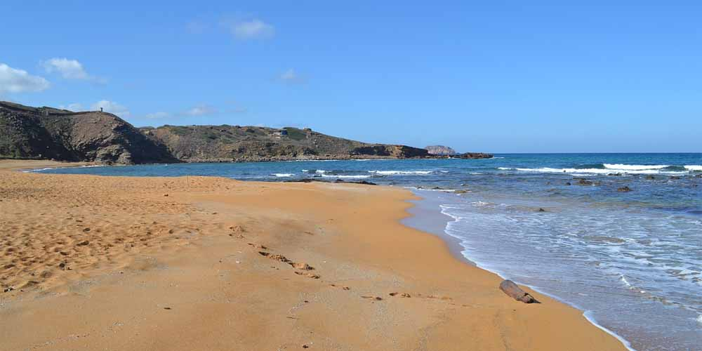 Vista de la playa Cavallería.