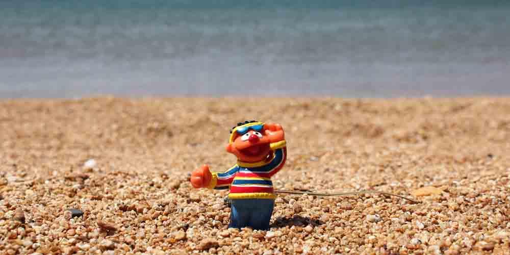 La playa del Salado para visitar en La Graciosa con niños.