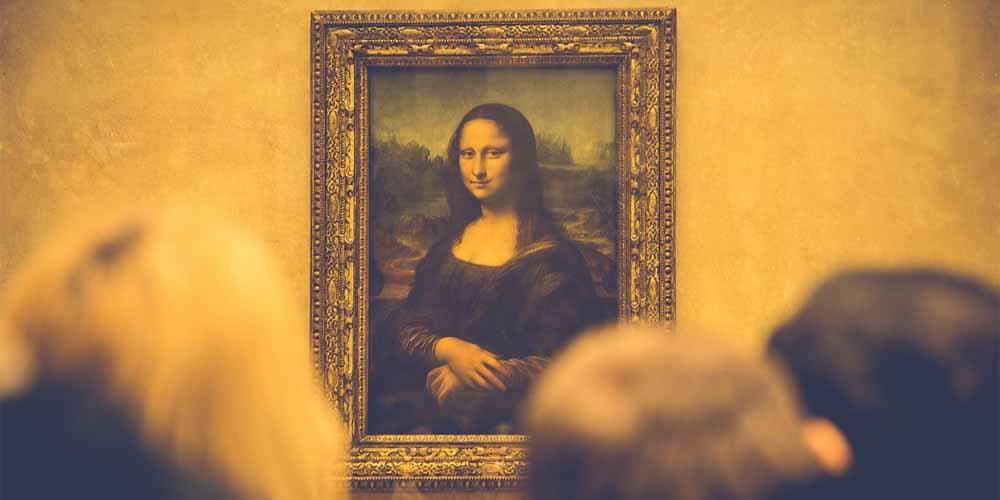 La Mona Lisa es lo más importante del Louvre.