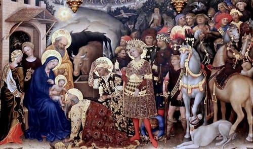 Adoración de los Reyes Magos de Gentile da Fabriano