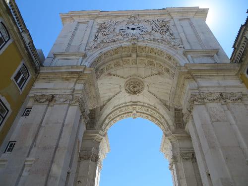 Arco Triunfal da Rua Augusta en Lisboa