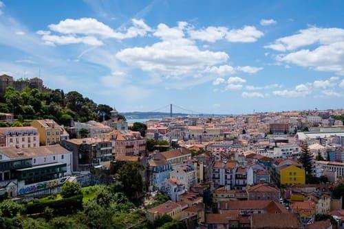Panorámica de Lisboa - Qué ver en Lisboa en 3 días