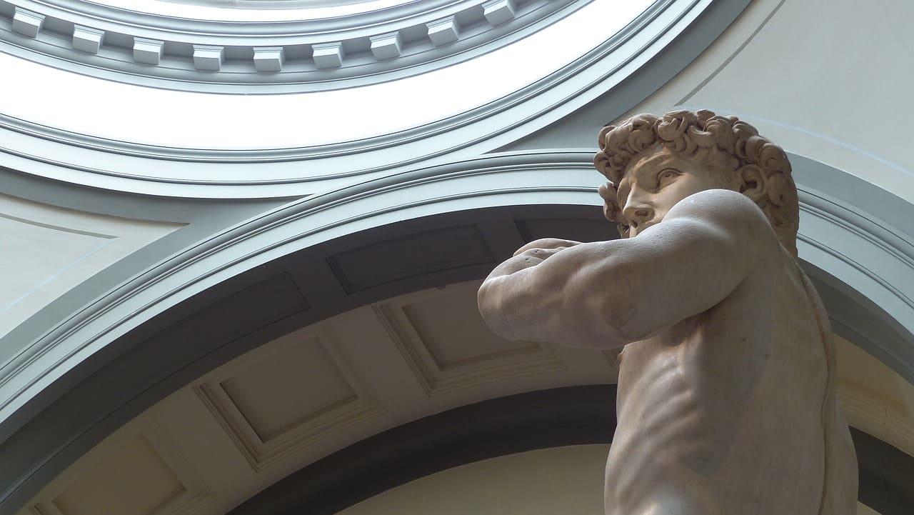 El David de Miguel Ángel, una de las cosas que ver en la Galería de la Academia de FLorencia