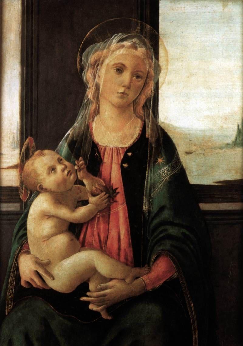 Madonna del Mare, uno de los cuadros que se pueden ver en la Galería de la Academia