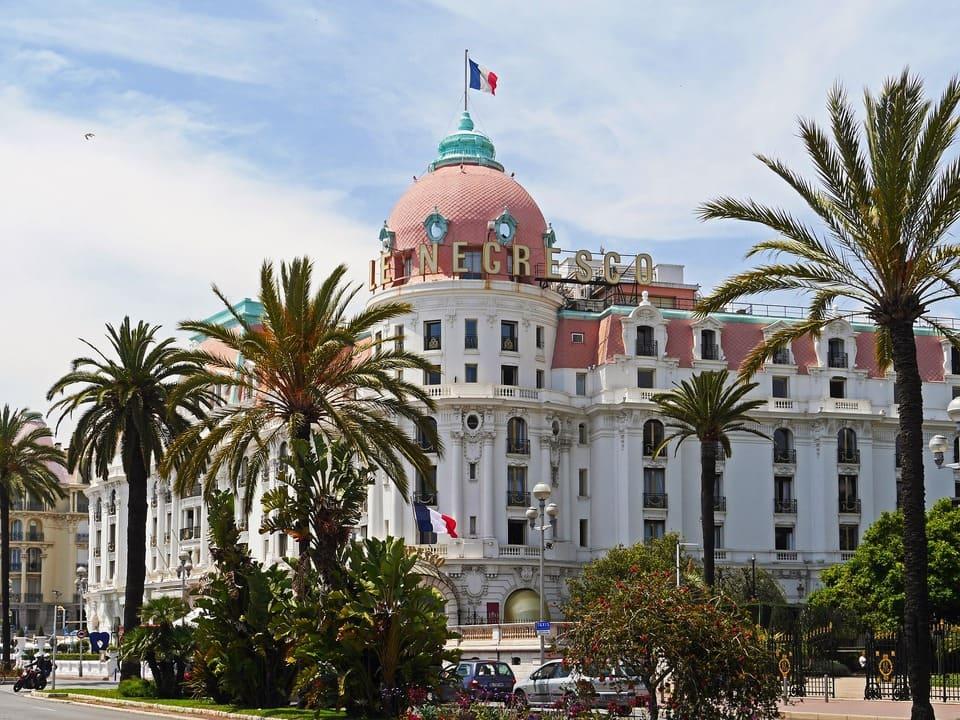 Promenade des Anglais, paseo en Niza