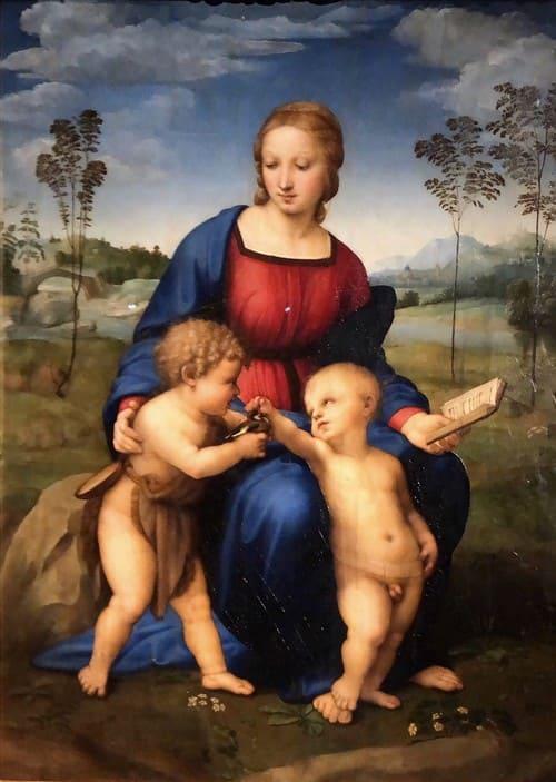 La Virgen del Jilguero de Rafael
