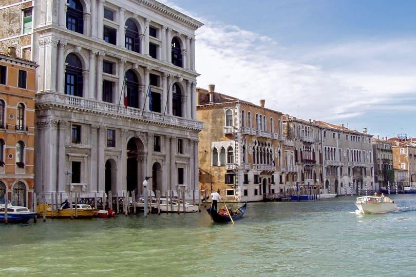 La Galería de Arte Moderno en Venecia